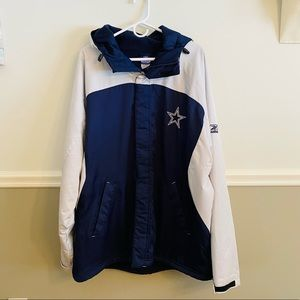 Mens Dallas Cowboys Reebok Team Apparel Jacket XXL